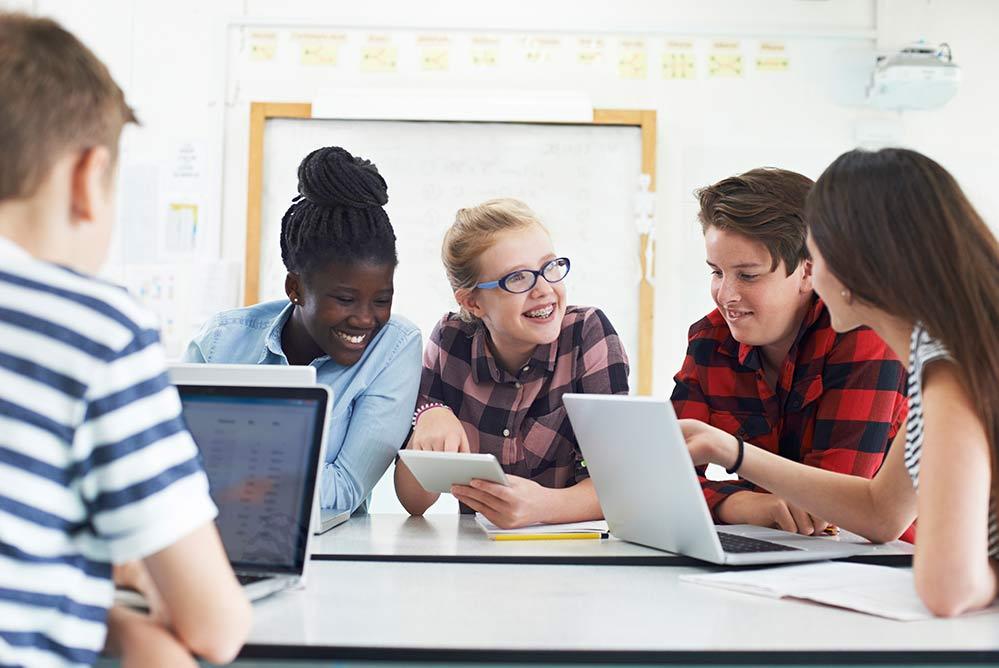 sociale interactie in de klas