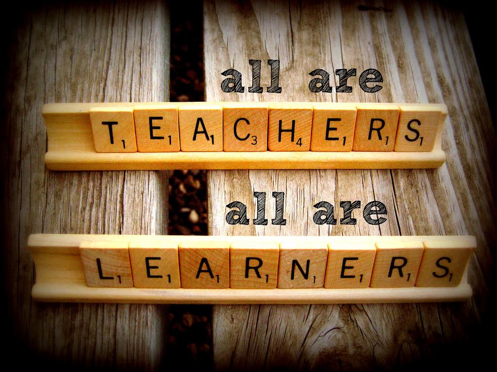 Docenten zijn zelf ook leerlingen