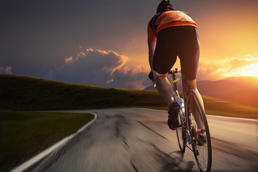 Veerkracht, fietsen in de bergen