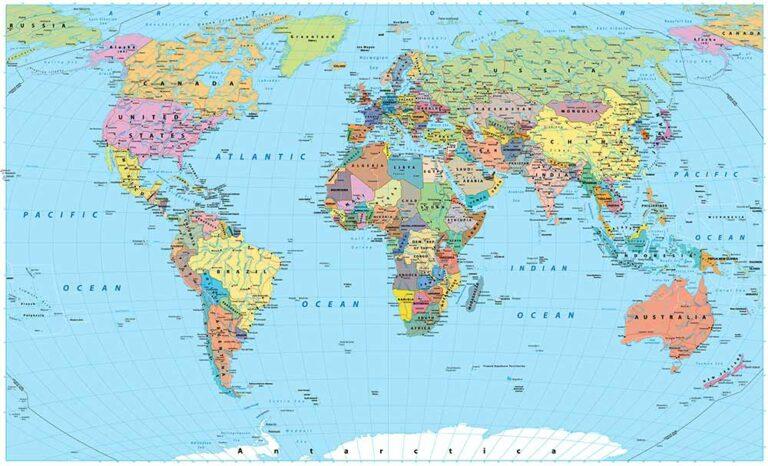 De wereld rond!