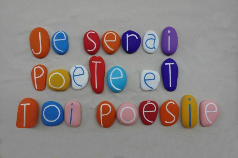 Place à la poésie et aux poètes !