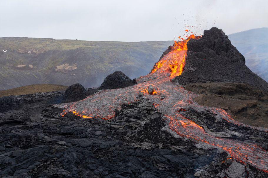 IJsland vulkaan actueel Malmberg Engels All Right
