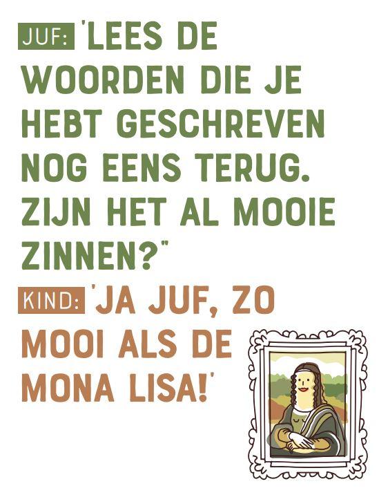 Kinderpraatje: Mona Lisa