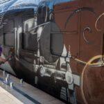 Züge putzen