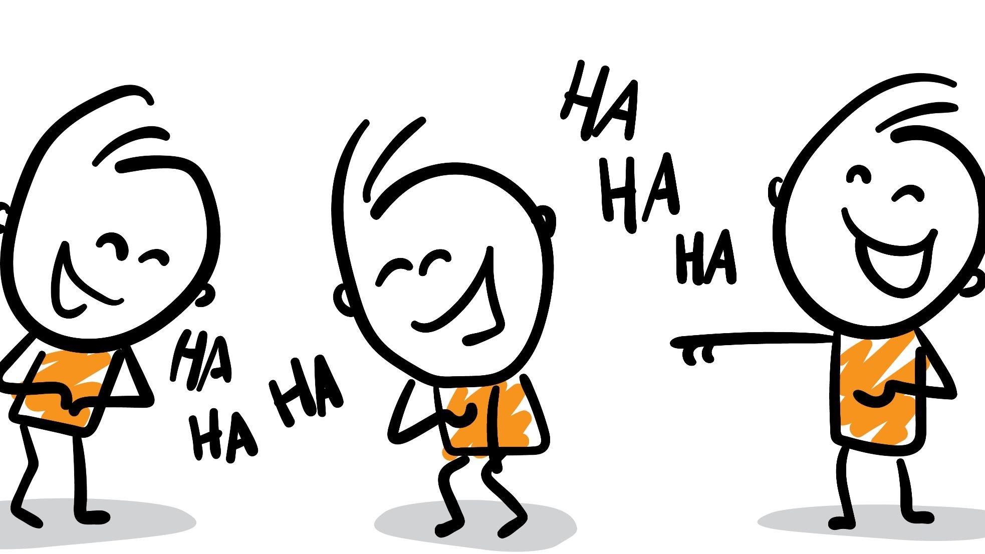 Frans Actueel Malmberg lachende poppetjes