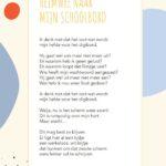Gedicht: Heimwee naar mijn schoolbord