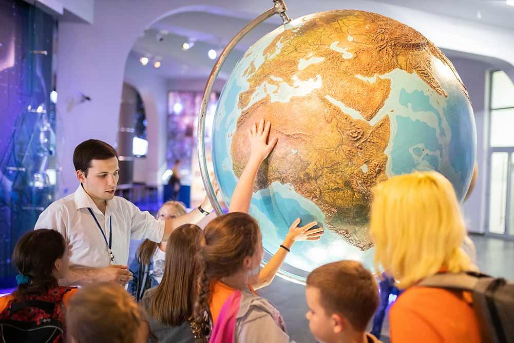 Schoolreisje naar het museum